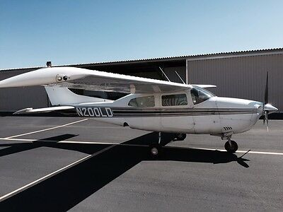 1973 Cessna 210L non turbo, low time factory engine!