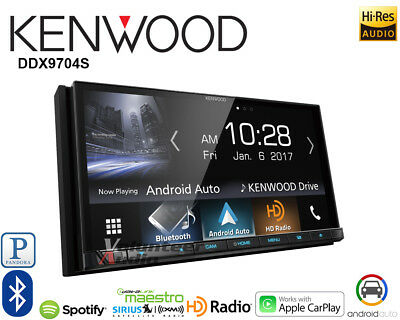 Kenwood DDX9704S Double Din Apple Carplay Android Auto Touchscreen