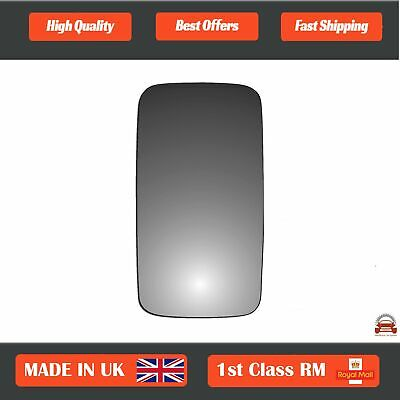 Right Side Wing Door Mirror Glass For Renault Mascott 1999-2010 Heated