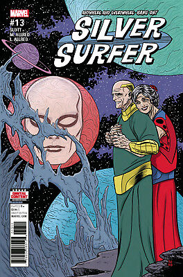 SILVER SURFER #13 (MARVEL 2017 1st Print) COMIC