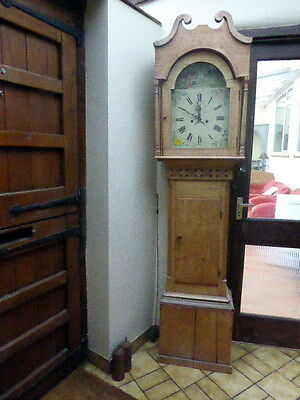 Rustic Pine Victorian Grandfather Clock 8 Day No Reasonable Offer Refused