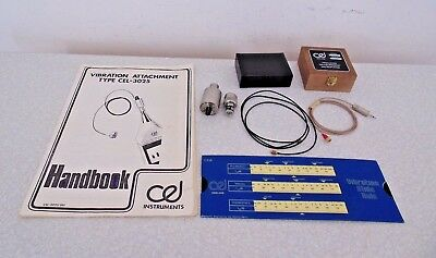 CEL-3025 Vibration Kit Attachment Sound Level Meter Noise Pollution Used