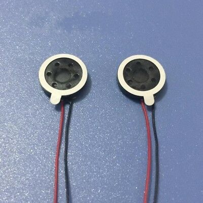 1/2/5/10Pcs 13mm Diameter Miniature Louder Speaker 1W, 8Ohm For Cellphone
