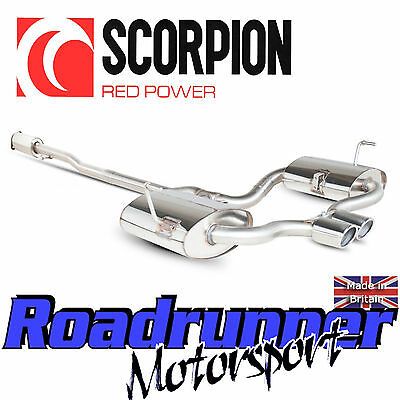 SMN012 Scorpion Exhaust Mini Cooper S R52 Cabrio Cat Back System Stainless Res