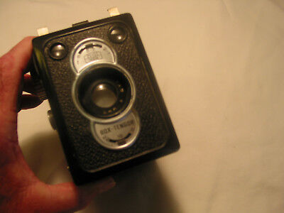 Vintage OLD ZEISS Box  Tenger PHOTO IRIS World War II era Germany Camera