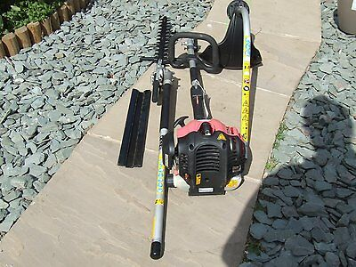 Petrol Long Reach Hedge Cutter And Strimmer Combi Multi 2 In 1