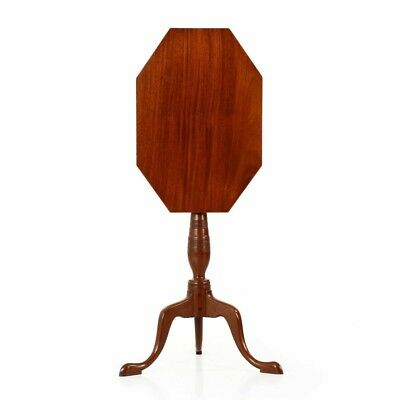Excellent Federal Period Antique Mahogany Candlestand, American c. 1805-15