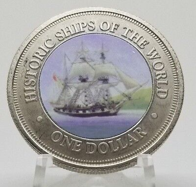 2003 Cook Islands - Historic Ships of the World Coin