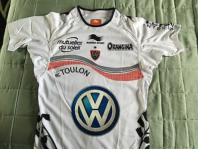 R.C. Toulon Rugby Shirt- Size (UK) 2XL. New with tags. Fantastic Shirt!