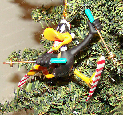 Daffy Duck (Skiing) Holiday Ornament (Looney Tunes by Matrix, 158246) 1996