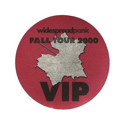 Widespread Panic authentic 2000 Fall tour satin Backstage Pass VIP pink