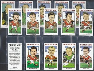 Neill-Full Set- Busby Babes (2Nd Series 15 Cards) Football Manchester United