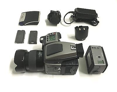 Hasselblad H2 System with Aptus 75s back, 80mm lens, film back, all accessories