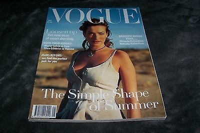 VOGUE MAGAZINE May 1993 Tatjana Patitz CORINNE DAY Testino NATASHA RICHARDSON