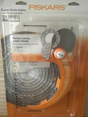 Fiskars Fabric Circle Cutter - Fabulous for quilting and applique