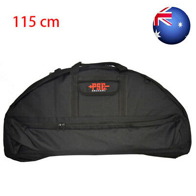 New 115cm Black Compound Bow Bag Archery molle Hunting Arrow Carry Bag Holder