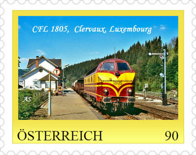 PM 674, CFL 1805, Clervaux, Luxembourg