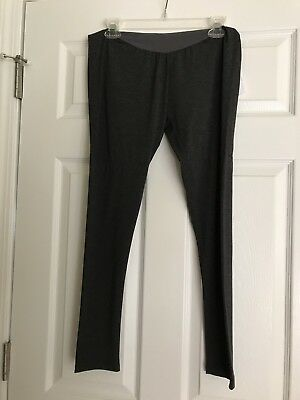Nwt!  Womens Maternity A Pea In The Pod Dark Gray Leggings Size Large