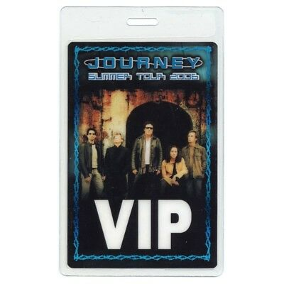 Journey authentic 2006 concert tour Laminated Backstage Pass Def Leppard VIP