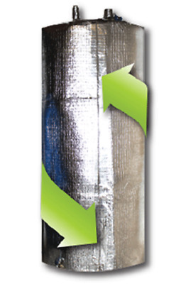 Water Heater Blanket jacket Insulation NON FIBERGLASS Fits up to 60 GallonsTank