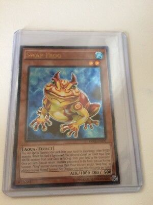 *** Swap Frog *** Ultimate Rare Mint/nm Condition Op03-En001 Yugioh!