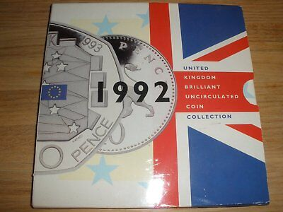 1992 United Kingdom Brillant Uncirculated Coin Collection