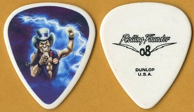 Ted Nugent 2008 Rolling Thunder tour band issued custom concert Guitar Pick
