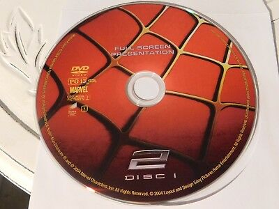 Spider-Man 2 (DVD, 2004, 1-Disc Special Edition, Fullscreen)Disc Only 20-51