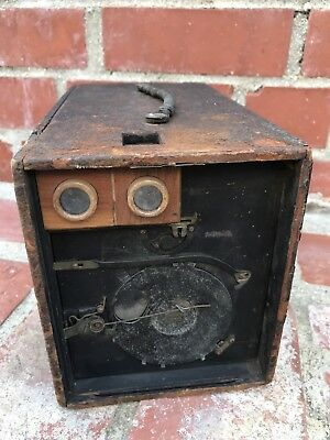 WOW! VERY OLD VERY RARE Antique Vintage Film Box Camera Unidentified! No Reserve