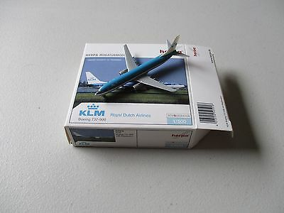 Herpa Wings  505918  KLM Royal Dutch Airlines   Boeing 737 - 900