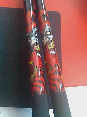 """""""THE JOKER""""  57"""" 2-PIECE MAPLE POOL CUE spare tips,  AA"""