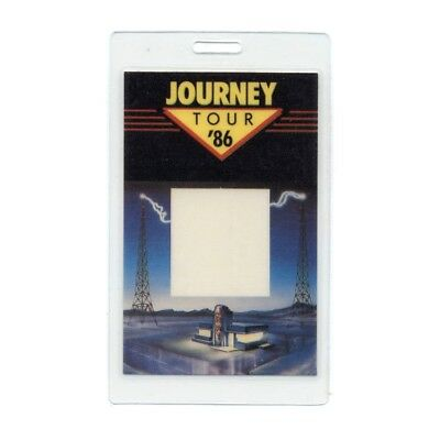 Journey authentic 1986 concert Laminated Backstage Pass Raised on Radio Tour