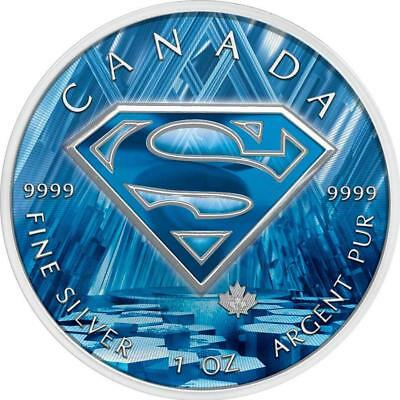 Canada 2016 5$ Superman 1 oz Silver Fortress of Solitude Proof Coin