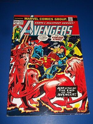 Avengers #112 Bronze Age 1st Mantis Key Wow Vision Scarlet Witch
