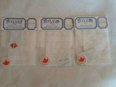 "SYLVAN ""N"" scale decals assortment(3)"