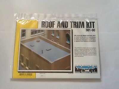 Ho Scale Dpm Kit Roof And Trim