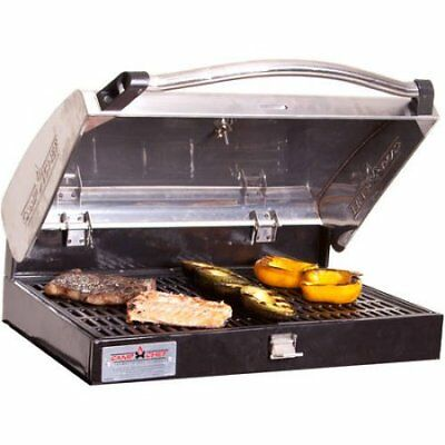 Camp Chef Deluxe Stainless Steel BBQ Box, Silver, Silver W