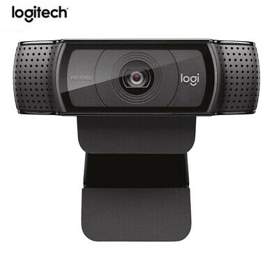 Logitech Pro C920 HD Webcam 1080p Webcam Video Recording,15 Million Pixels