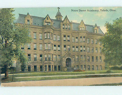 Divided-Back NOTRE DAME ACADEMY Toledo Ohio OH L8310
