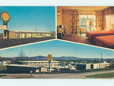 Unused Pre-1980 OLD CARS & QUALITY COURTS MOTEL Somerset Kentucky KY M0424