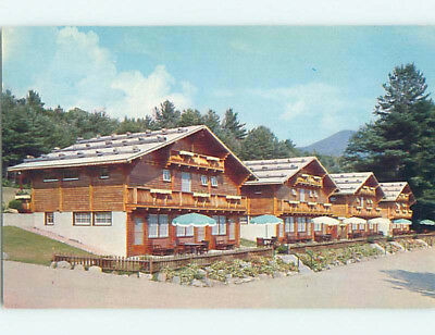 Pre-1980 CHALETS MOTEL Intervale New Hampshire NH M2157