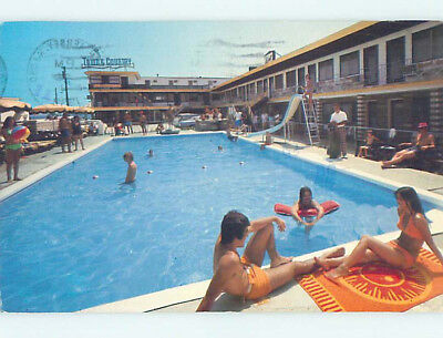 Damaged 1988 TOWN & COUNTRY MOTEL Wildwood New Jersey NJ M2447