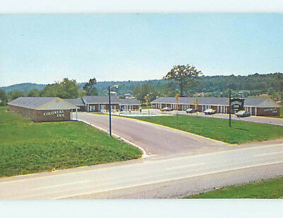 Unused Pre-1980 COLONIAL INN MOTEL Cleveland Tennessee TN L1130-12