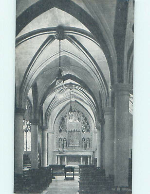 Unused Divided-Back CATHEDRAL CHURCH SCENE Washington DC L5004