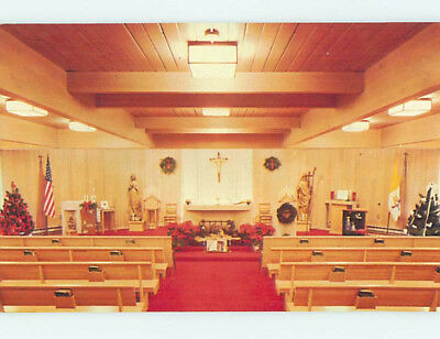 Unused Pre-1980 CHURCH SCENE Superior Wisconsin WI L3243