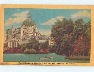 Damaged Linen BASILICA AT PARK Milwaukee Wisconsin WI L5732