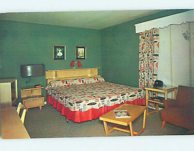 Pre-1980 MERCURY COURT MOTEL Nashville Tennessee TN M2250