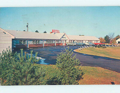 Pre-1980 OLD CARS & RIVERBEND MOTEL Newington New Hampshire NH M2501