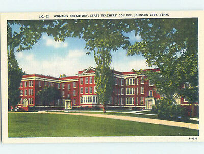 Linen WOMEN'S DORM AT STATE TEACHERS COLLEGE Johnson City Tennessee TN L9289-12