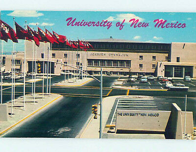 Unused Pre-1980 GYM AT UNIVERSITY OF NEW MEXICO Albuquerque New Mexico NM L6453